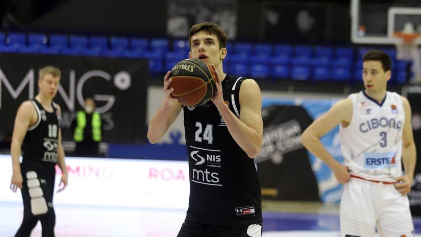 Nikola Radovanović dobija trogodišnji ugovor od Partizana