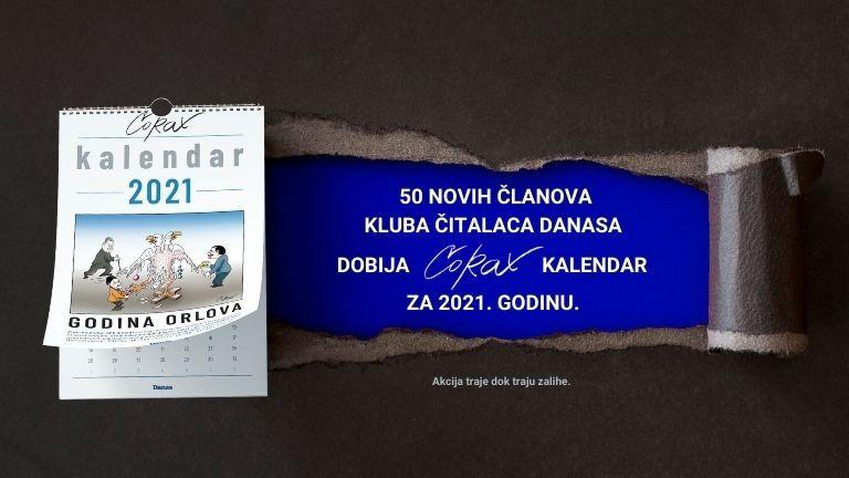 Postani član Kluba čitalaca Danasa i osvoji Koraksov kalendar