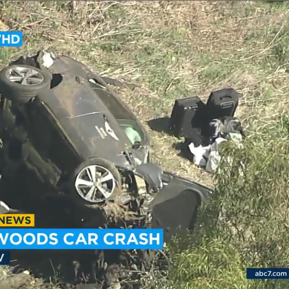 Tajger Vuds imao tešku saobraćajnu nesreću!