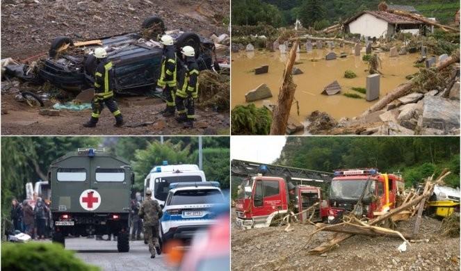 Ispovest Srbina iz Nemačke: Situacija iz minuta u minut sve LOŠIJA, dolazi policija, helikopteri nadleću reku... U JEDNOJ RUCI KOFER, U DRUGOJ DETE, VOZE NAS ALBANKE!/FOTO/