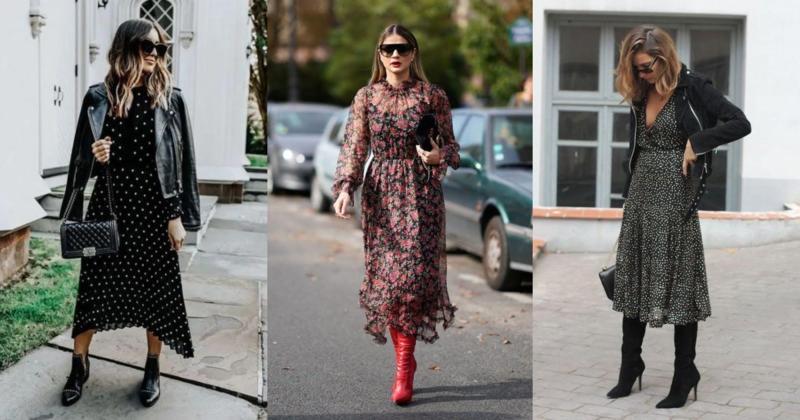 8 midi haljina koje odgovaraju svim modelima čizama