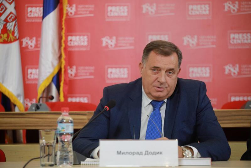 Dodik: Ako nam uvedu sankcije, RS će krenuti u samostalnost