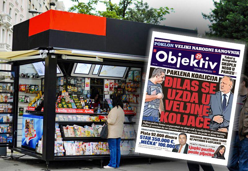 Sutra u novinama Objektiv: Đilas se uzda u Veljine koljače, pevačici provalili u stan (NASLOVNA STRANA)