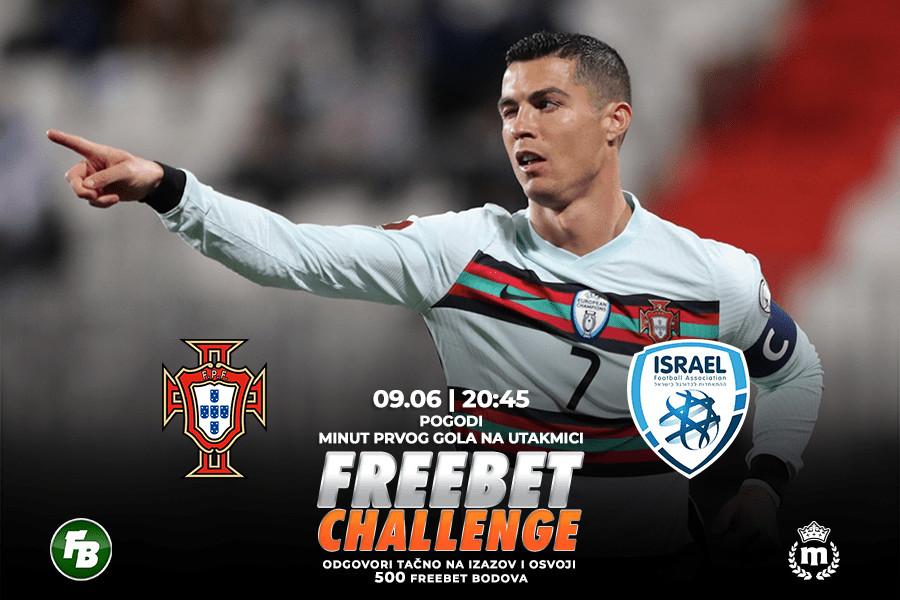 IGRE Pogodi minut prvog gola na meču Portugalija – Izrael