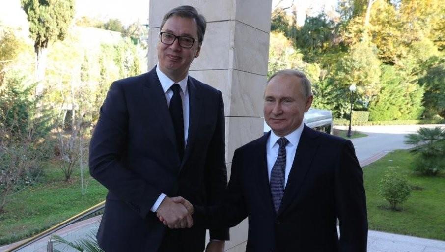 VUČIĆ PISAO PUTINU: Predsednik Srbije poslao poruku ruskom lideru