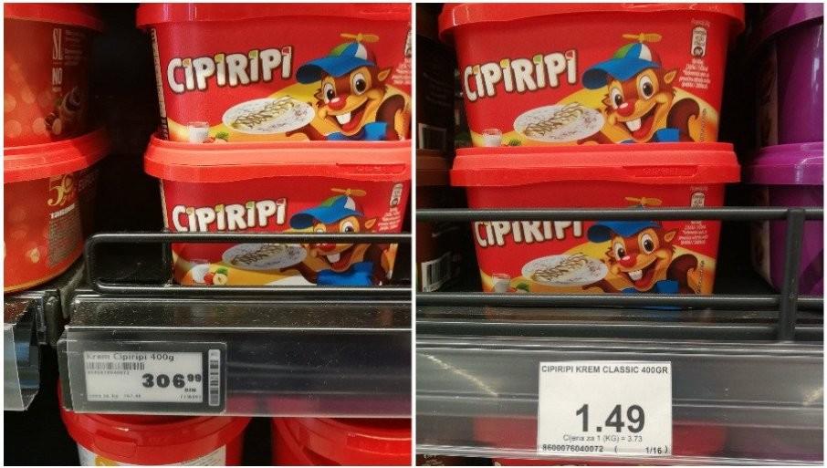 I SRPSKI KREM JEFTINIJI KOD KOMŠIJA: Zašto su kod nas cene nekih proizvoda čak i duplo skuplje?