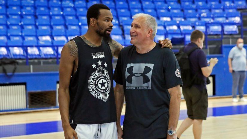 Partizan u Istanbulu ponovo kompletan: Traže se minuti za Kevina Pantera