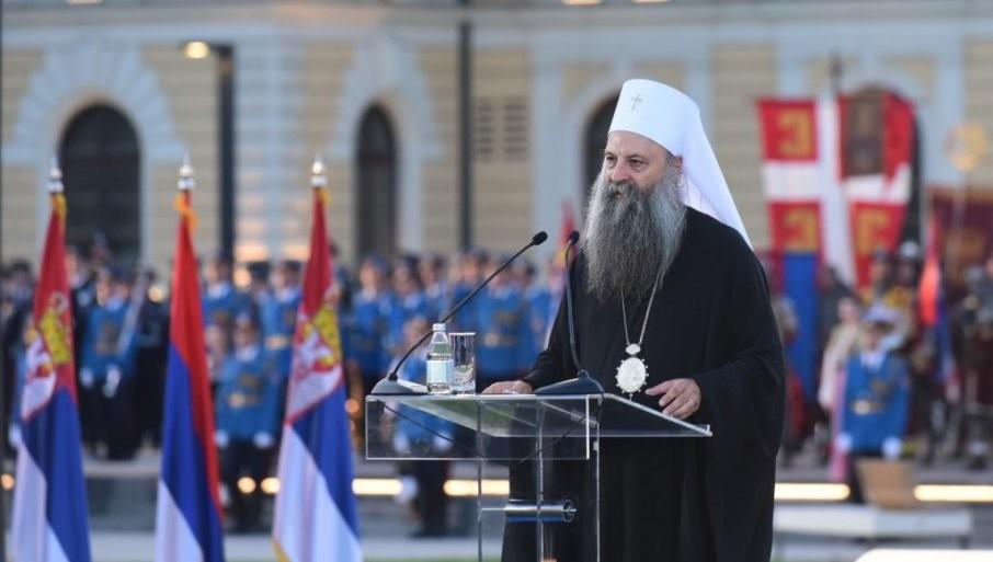 NE MOŽEŠ BITI SVETSKI, KADA NISI SVOJ: Jake reči o jedinstvu patrijarha Porfirija povodom velikog praznika