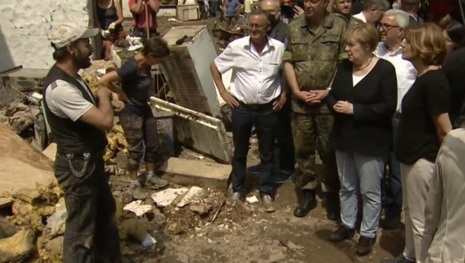 """""""Nemački jezik jedva može da opiše ova razaranja!"""" Angela Merkel obećala pomoć pogođenim područjima"""