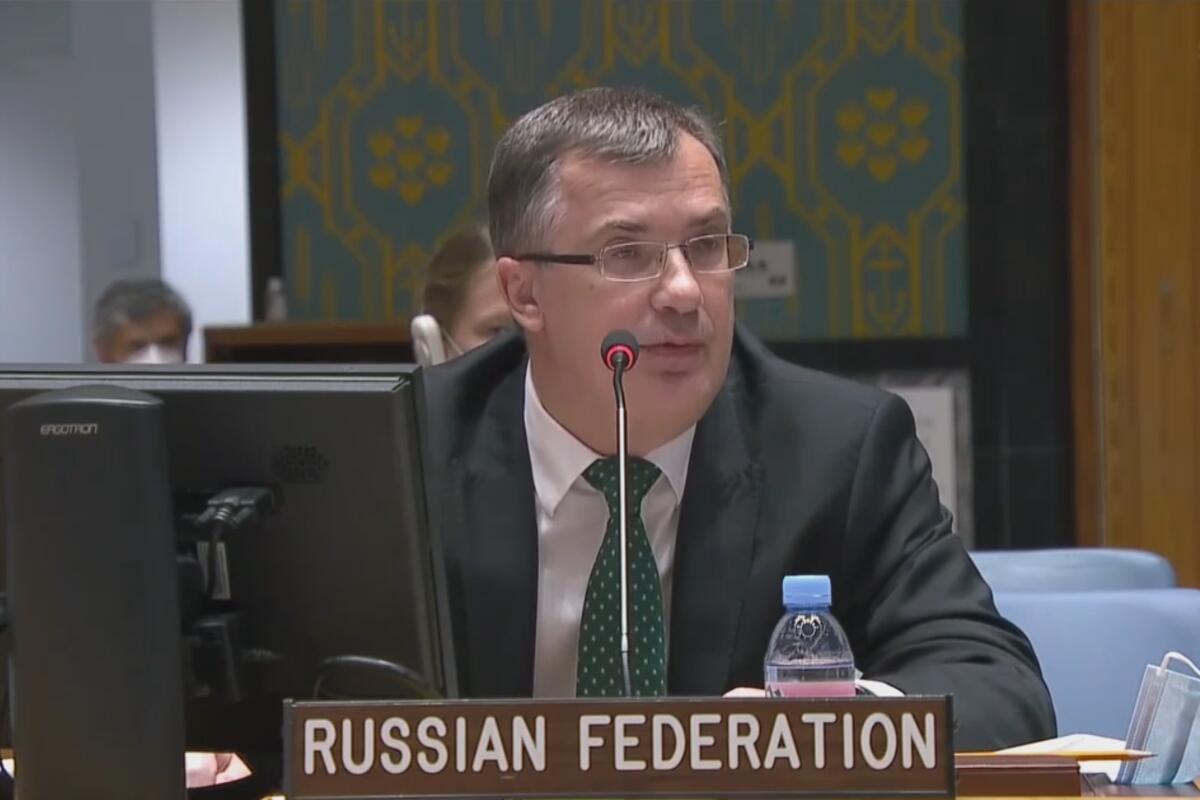 SRBE STE OSUDILI ZA SVE, A DRUGE STE ZATAŠKALI: Predstavnik Rusije oštro odbrusio svima na sednici Saveta bezbednosti UN