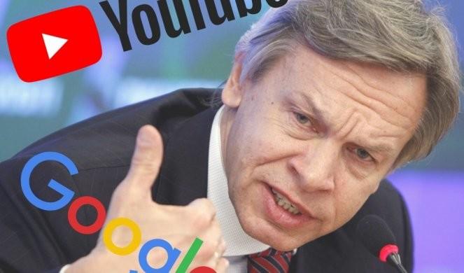 RUSIJA ZAHTEVA od Gugla da ODBLOKIRA video senatora Puškova!
