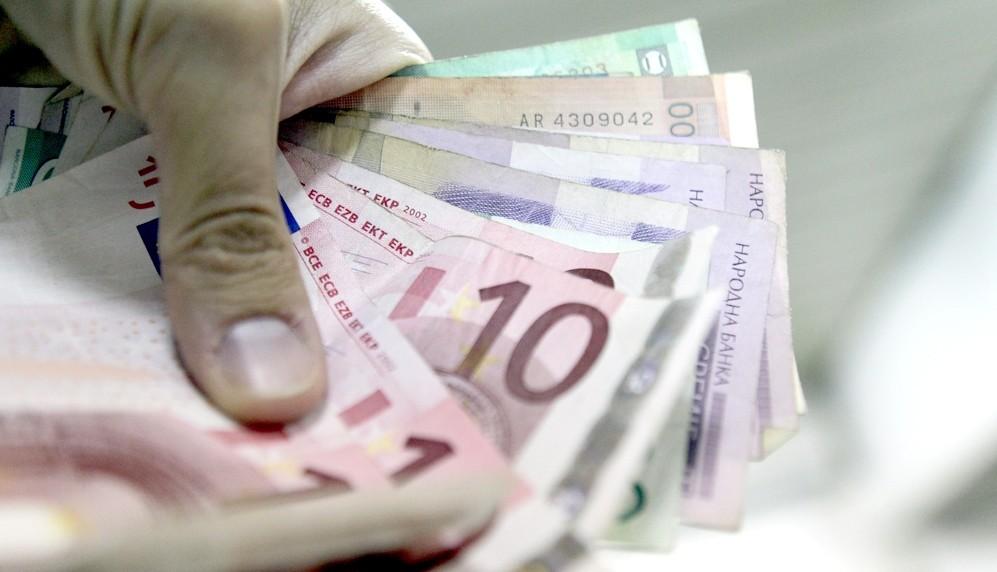 Srednji kurs dinara 117,57 za evro