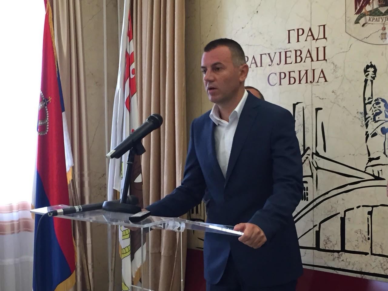 Bojan Stojadinović novi član pokreta Kragujevačka Priča