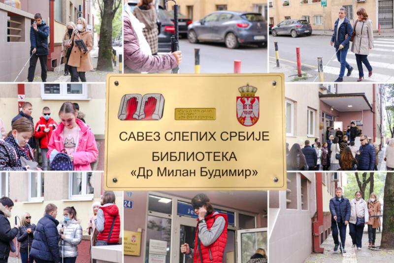 "ESPRESO NA TAKMIČENJU ""BELIH ŠTAPOVA"": U Srbiji živi oko 12.000 slepih i slabovidih osoba, ovo je njihov DAN! VIDEO"