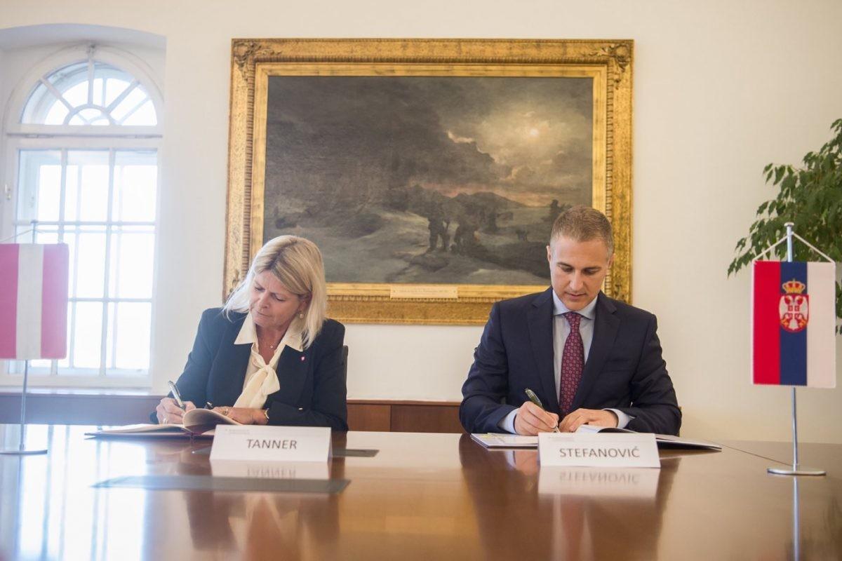 Potpisan Sporazum o vojnoj saradnji između Srbije i Austrije