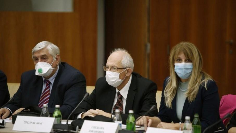 DEO KRIZNOG ŠTABA ZA POOŠTRAVANJE MERA: Dr Jovanović o porastu broja zaraženih u našoj zemlji