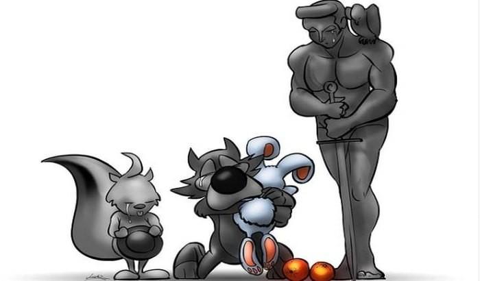 Autor karikature u čast Balaševiću: Svi mi u regionu lijemo iste suze, smejemo se istim vicevima
