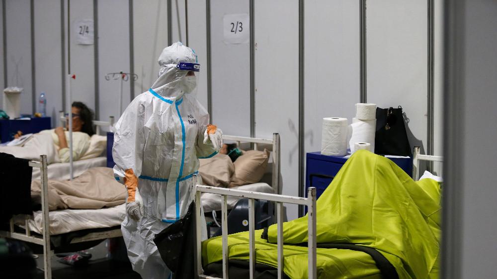 Koordinator: U beogradskoj Areni 290 kovid pacijenata, klinička slika teška