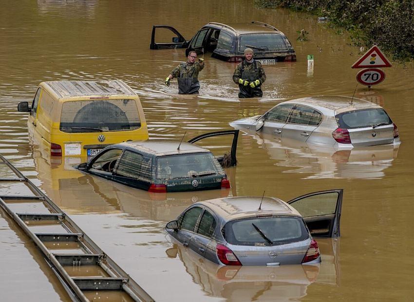 Novosađanin izveštavao uživo iz vodene bujice u Nemačkoj, jedva se sa porodicom izvukao iz poplave