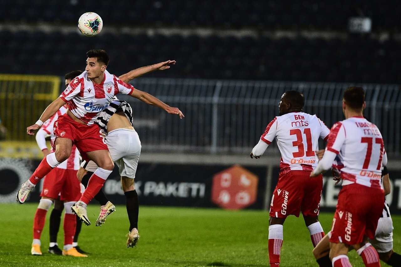 Nakon četiri utakmice: Zvezda KONAČNO OTKLJUČALA mrežu Partizana (VIDEO+FOTO)