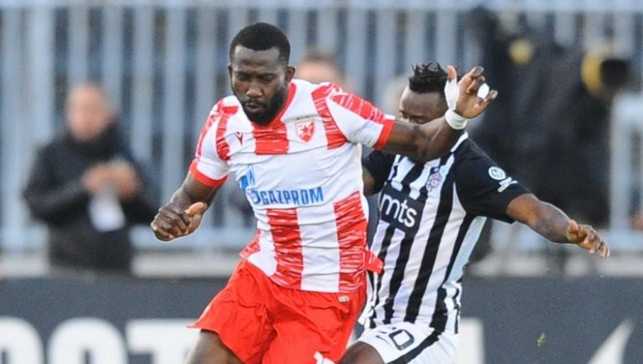 SANOGO POVREDIO SUMU: Fudbaler Partizana pauzira zbog povrede oka!