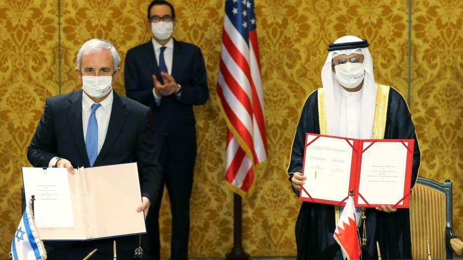 Izrael i Bahrein potpisali sporazum o uspostavljanju diplomatskih odnosa