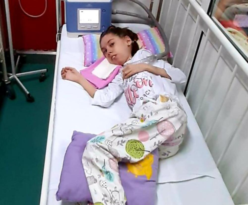 SLIKA IZ PRIJEPOLJA KOJA KIDA DUŠU: Amina ima samo 12 godina, da bi mogla da diše POTREBNO JE 6.000 EVRA!