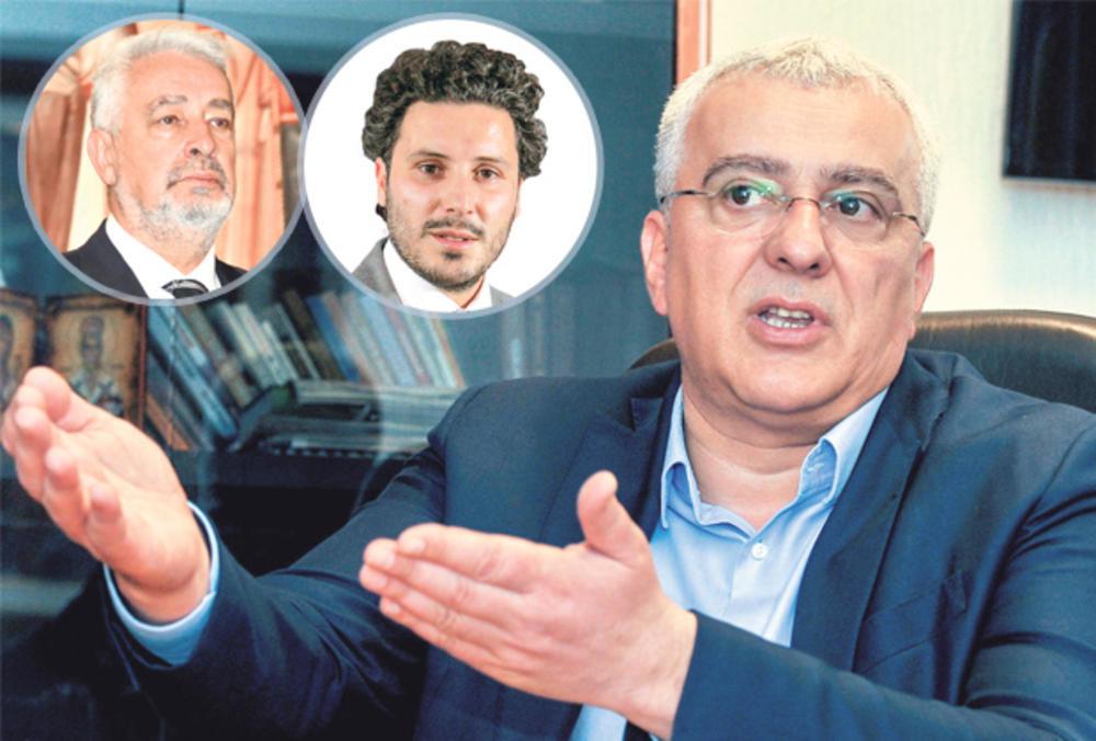 LIDERI DEMOKRATSKOG FRONTA ŽESTOKO O KRIVOKAPIĆEVOM SPISKU: Nismo srećni što je Abazović ministar, ali ne damo Milu da se vrati