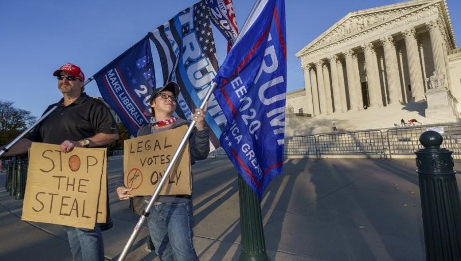 VRHOVNI SUD SAD DONEO ODLUKU: Pensilvanija da privremeno odvoji glasačke listiće pristigle po zatvaranju birališta