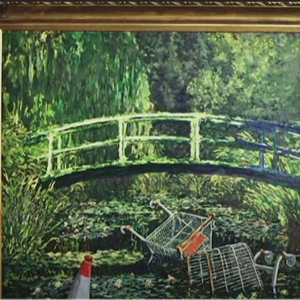 Docrtao kolica iz supermarketa na čuvenu umetničku sliku – prodao je za 10 miliona evra