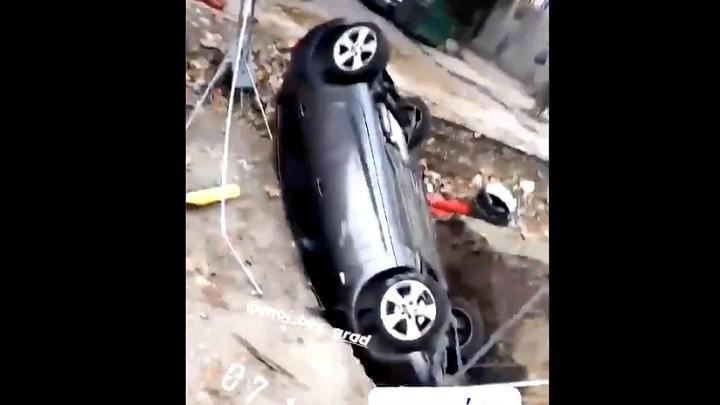 Ako se probudite u Beogradu, upadnete autom u Vesićevu rupu