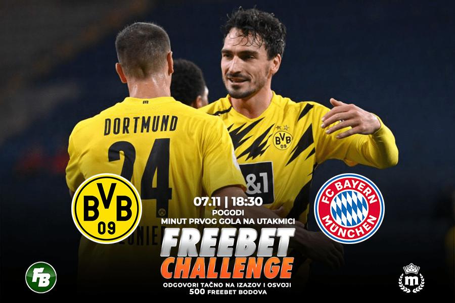 IGRE Pogodi minut prvog gola na meču Dortmund – Bajern