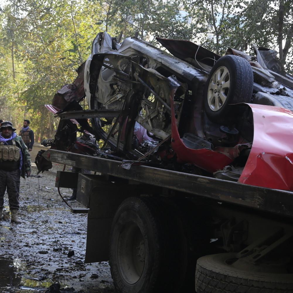 Bivšem avganistanskom voditelju podmetnuta bomba