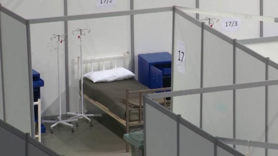 U beogradskoj Areni 360 pacijenata zaraženih koronom