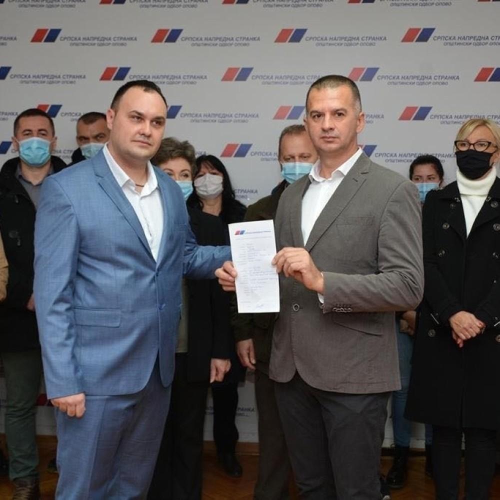 SPS u Opovu prešao u Srpsku naprednu stranku