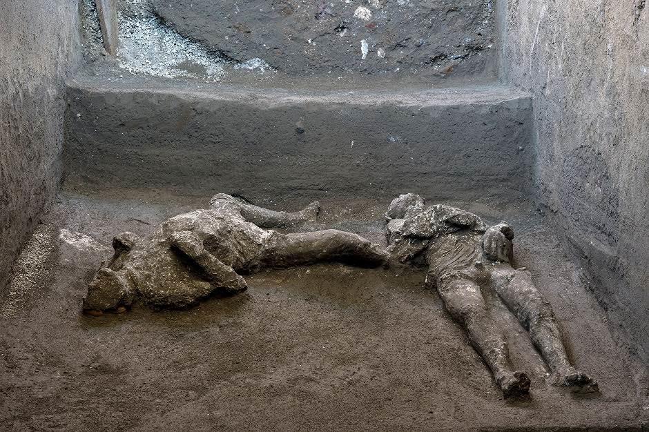 Otkrivena nova tajna Pompeje - arheolozi pronašli očuvana tela