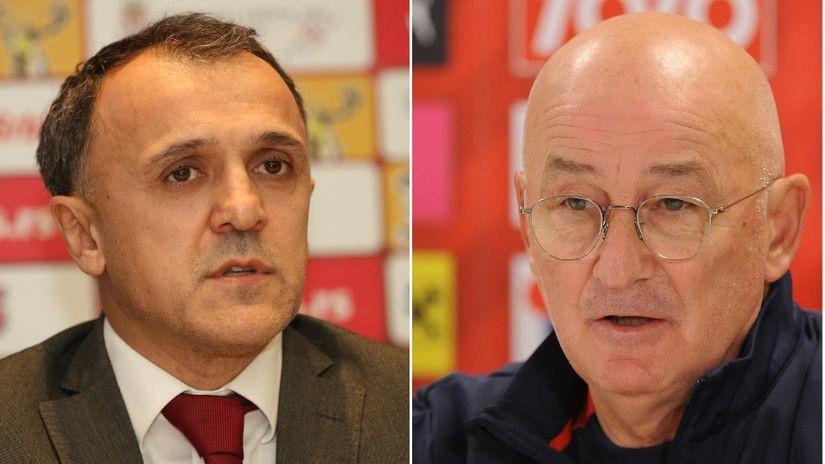 Muslin: Stojim iza svih Vidićevih reči; Drulović: Svako ko je postigao uspeh sklonjen je iz reprezentacije