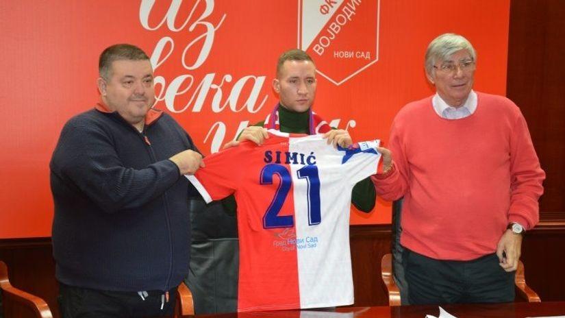 Simić: Prelazak u Vojvodinu nije korak nazad u karijeri
