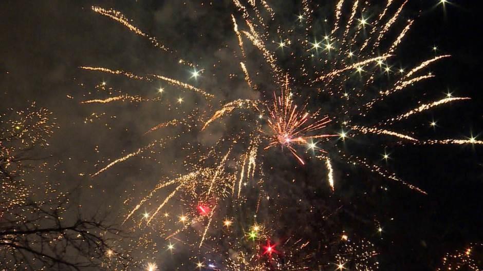 Vatromet za doček Nove godine po Julijanskom kalendaru