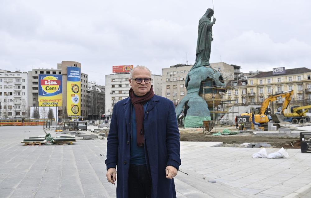 VESIĆ: Otvaranje rekonstruisanog Savskog trga i spomenika Stefanu Nemanji 27. januara!
