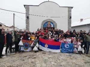 Пакетићи за српску децу на Kосову и Метохији