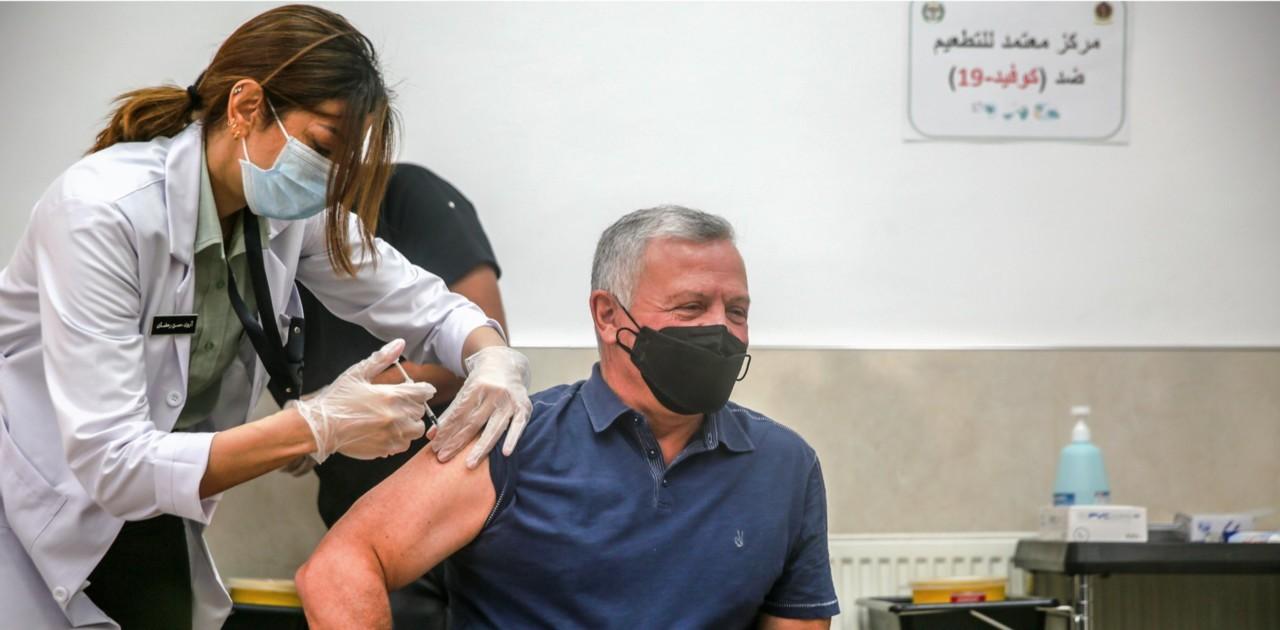 Vakcinisan kralj Jordana, u Izraelu prvu dozu primilo dva miliona ljudi