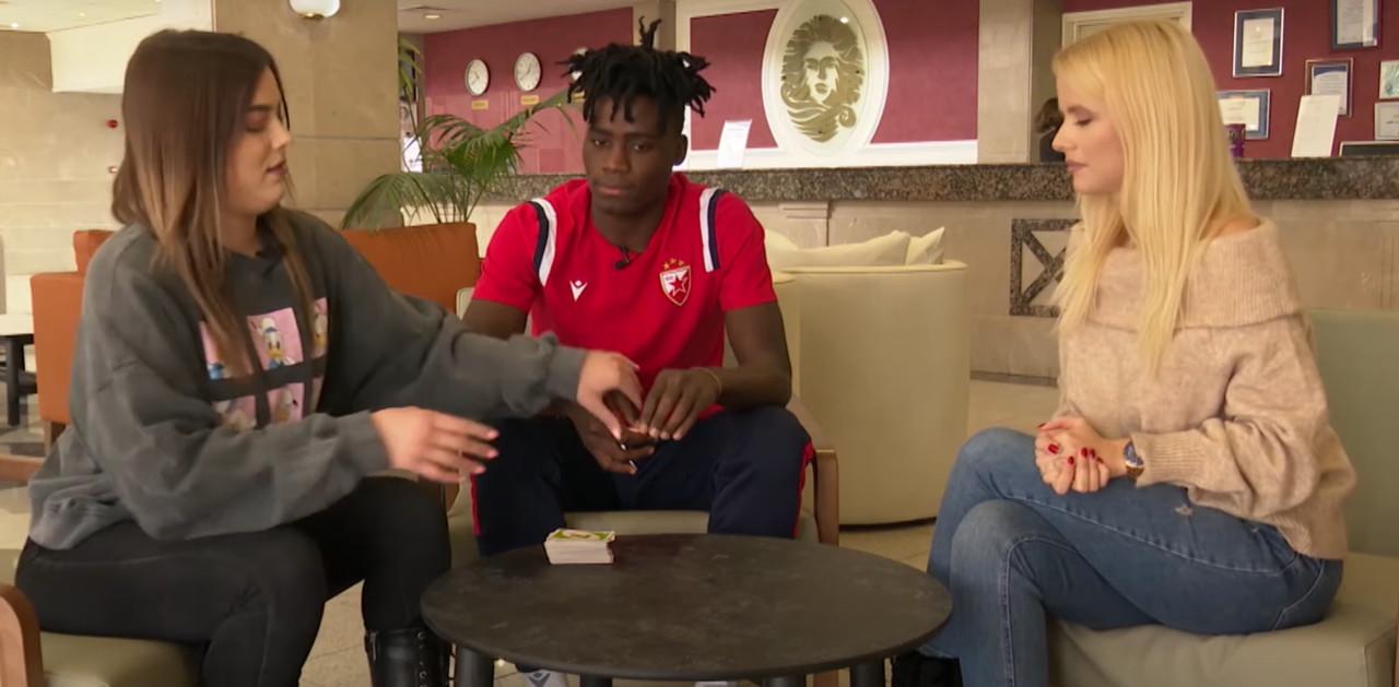 Urnebesan intervju Zvezdinog Afrikanca: Odada pokazao kako priča srpski! (VIDEO)