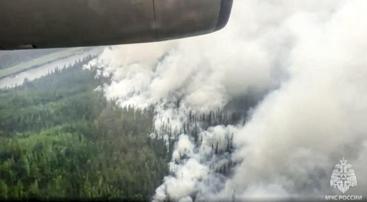 Oko 200 šumskih požara besni u Sibiru, gust dim nad Jakutskom