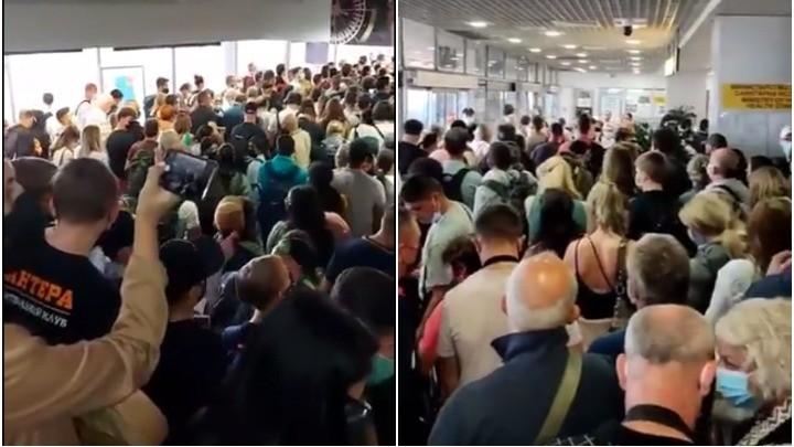 "KOLAPS na aerodromu ""Nikola Tesla"" (VIDEO)"