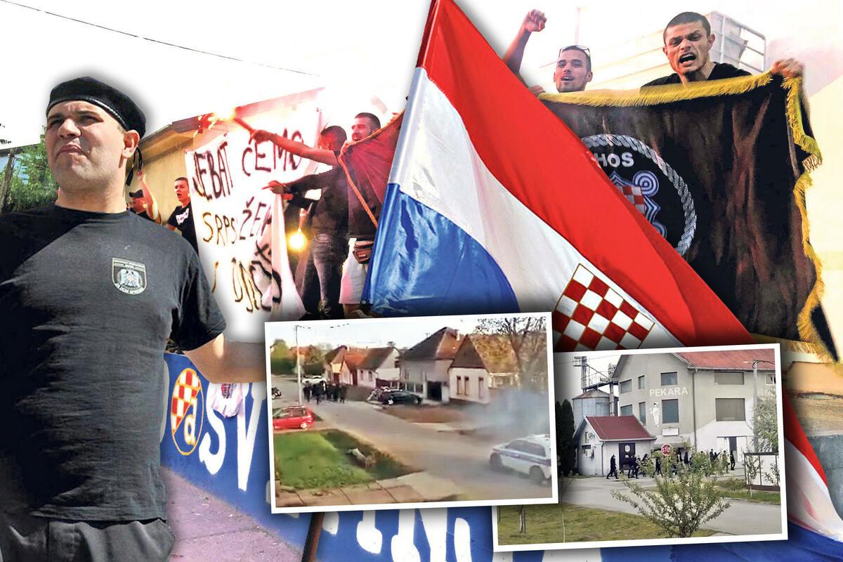 USTAŠKI PIR U BOROVU SELU! Na Uskrs divljali uz povike Ubij Srbina, policija sve posmatrala sa strane! ČITAJTE U KURIRU