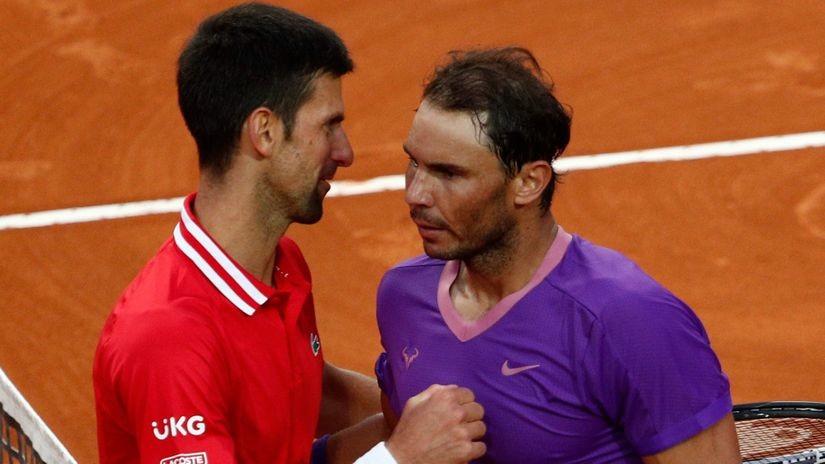 Sve smo bliži duelu titana - Nadala i Đokovića