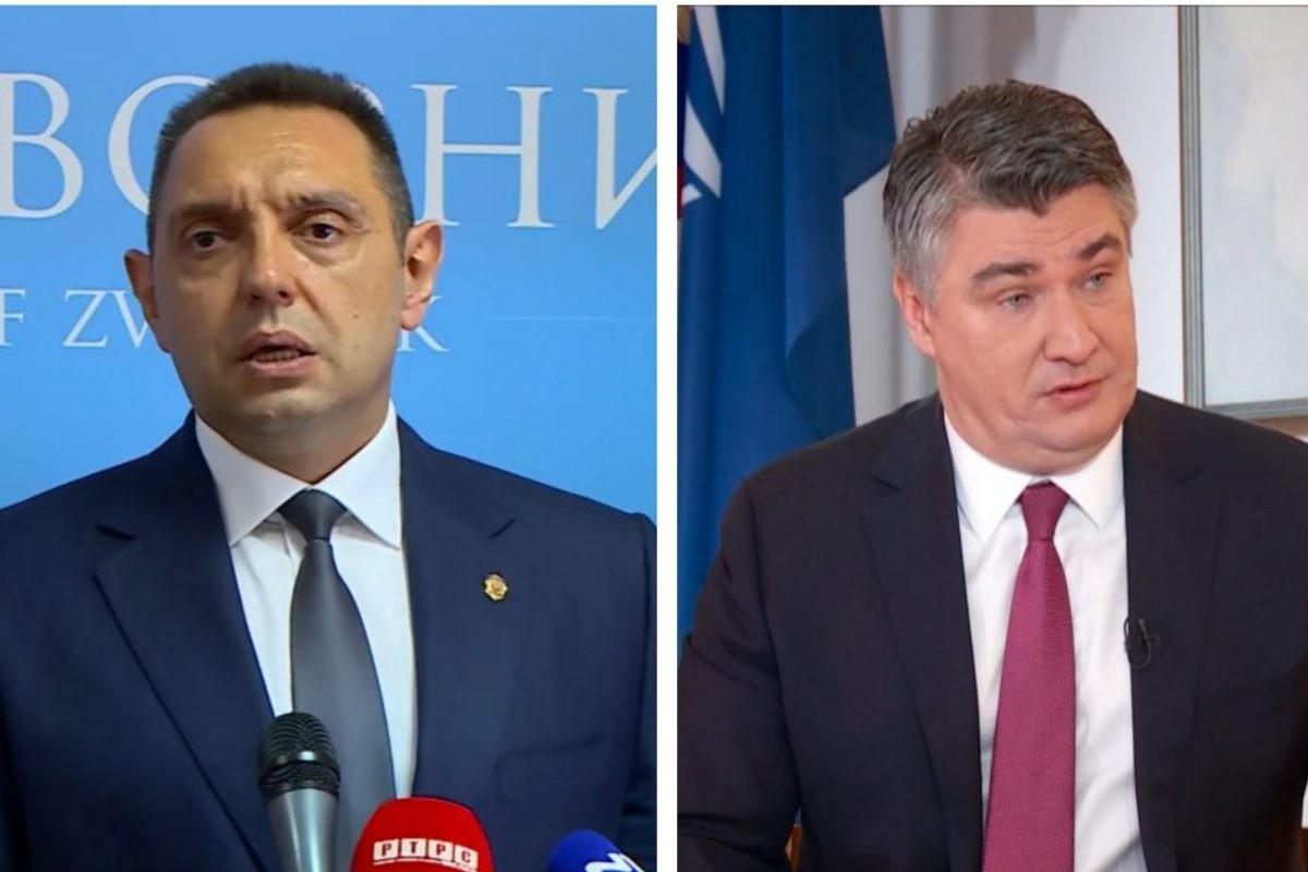 Vulin: Milanović spada u gluplje hrvatske političare