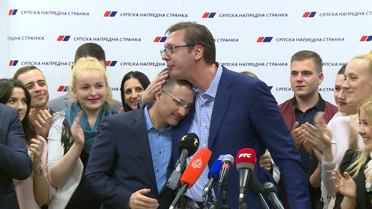 Vučić o Stefanoviću: Ne pada mi na pamet da vodim hajku protiv nekog iz SNS