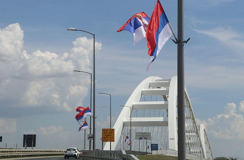 Zastave i jarboli u Novom Sadu plaćeni 1,3 miliona dinara